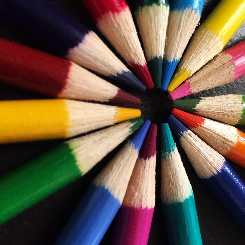 art, art materials, bright