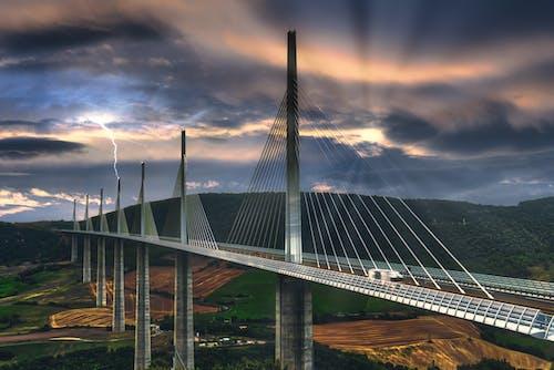 Free stock photo of architecture, autumn mood, bridge, change