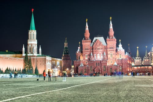 Free stock photo of red square