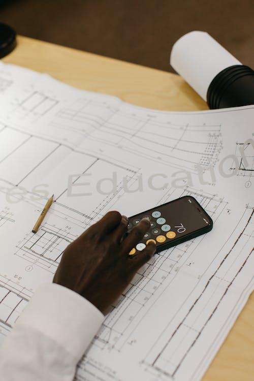 คลังภาพถ่ายฟรี ของ o negre trabalha em 卡萨, архитектор, библиотека