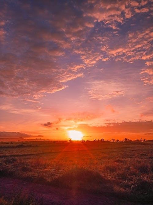 Free stock photo of beach sunset, Beautiful sunset, golden sunset
