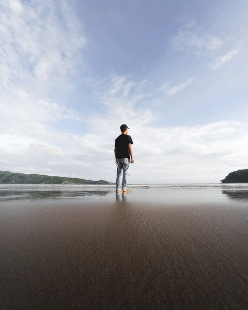 Free stock photo of above sea, adventure, at the beach