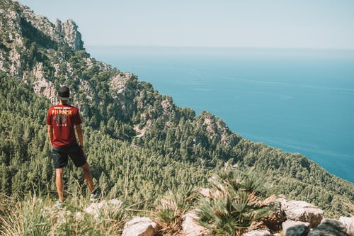 Free stock photo of adventure, beautiful landscape, camping, cliff