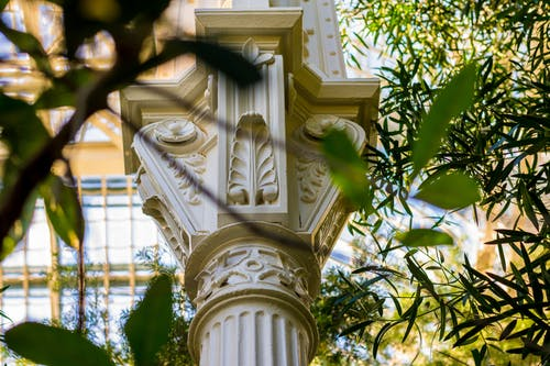 Foto stok gratis Arsitektur, bangunan, batu, kebun