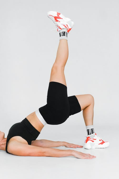 A Person Doing Flexibility Exercise