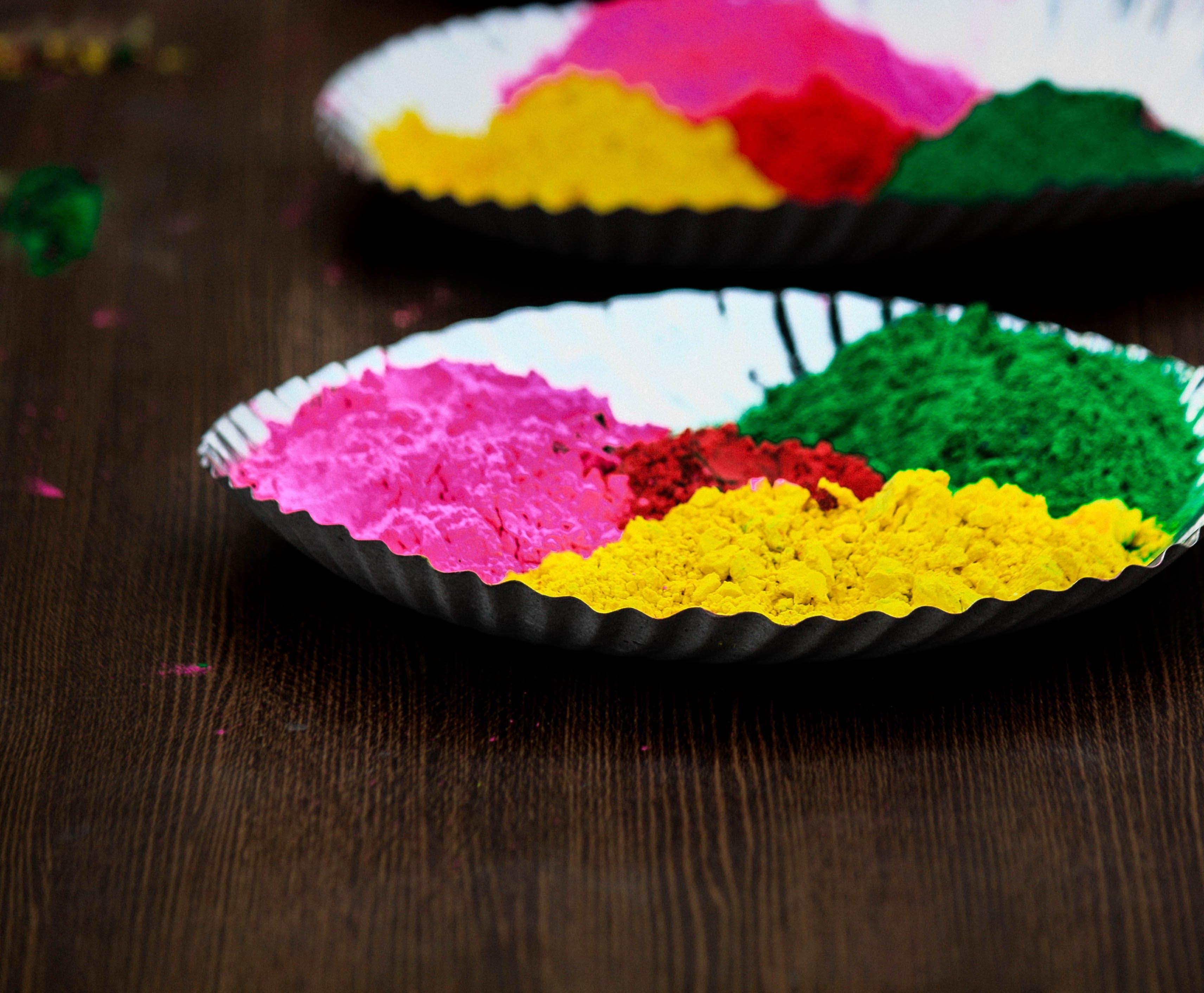 Free stock photo of bright colours, colour, festival, holi powder
