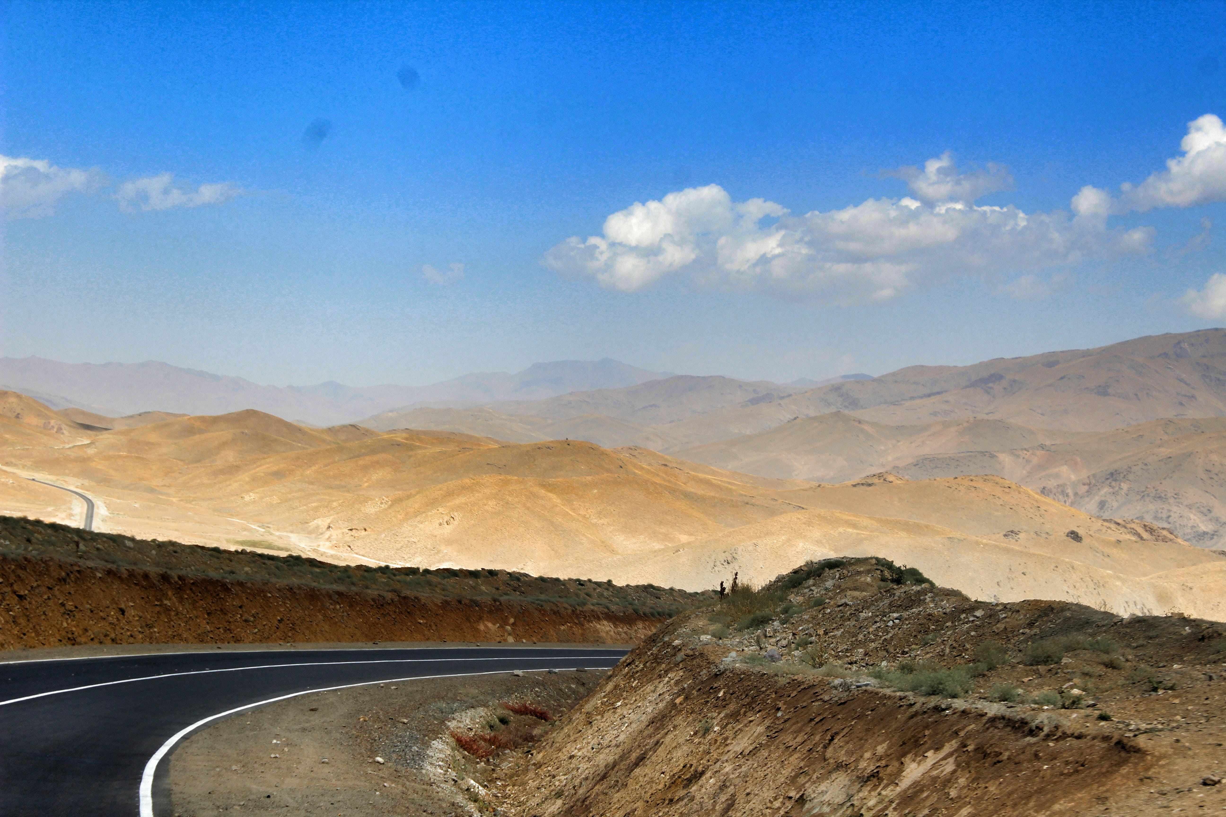 Free stock photo of adventure, afghanistan, asphalt, babamountains