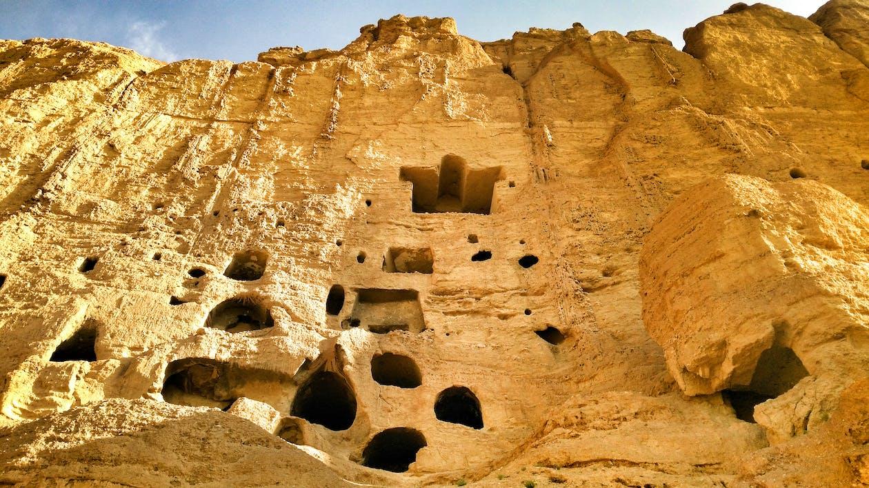 archeologia, chmury, erozja