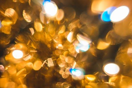 Gold Bokeh