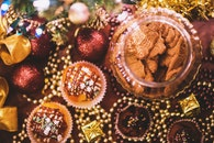 sweet, decoration, biscuits