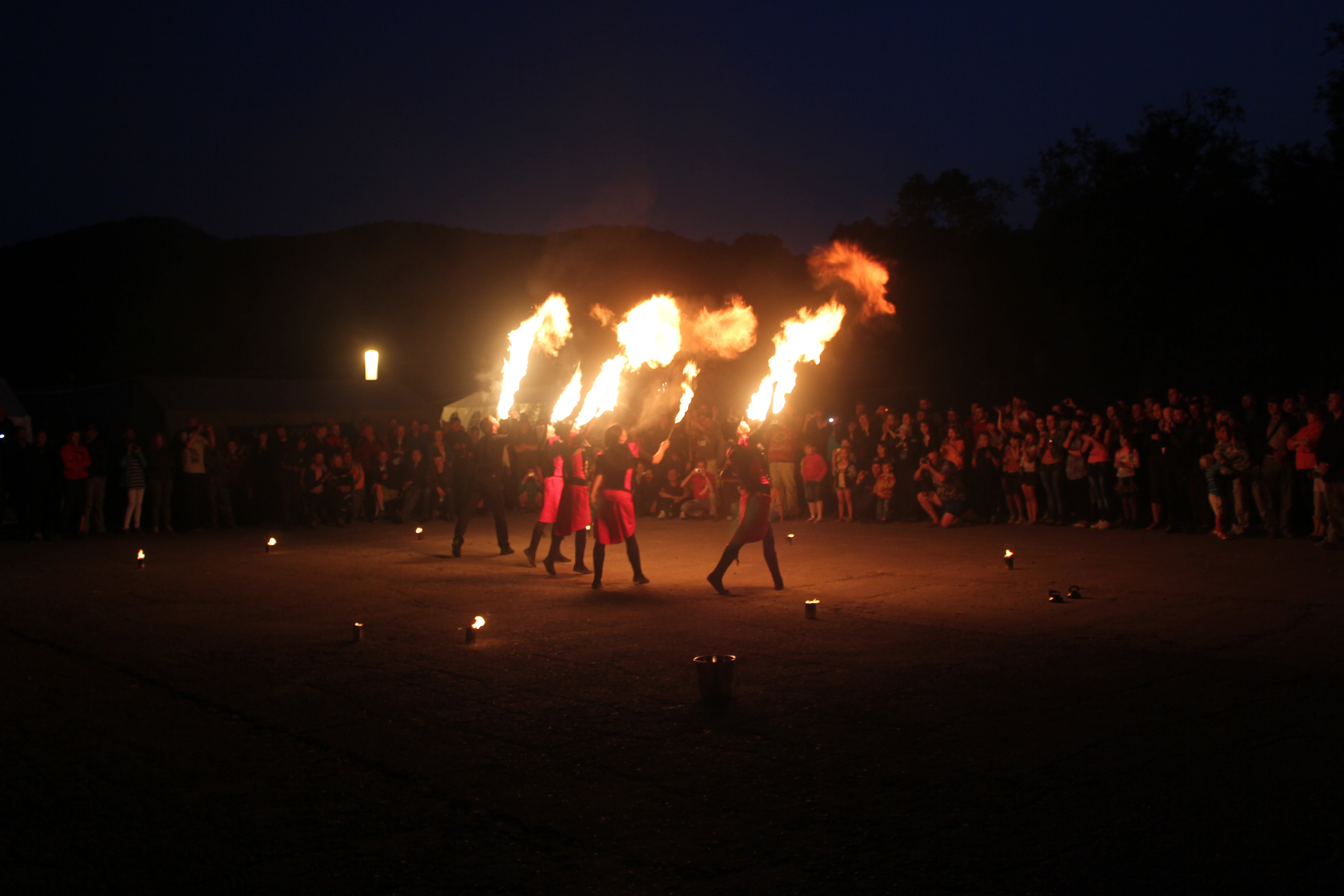 Free stock photo of fire show