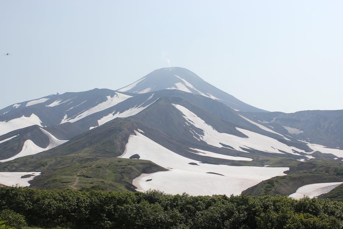 Mountain Range With Snows