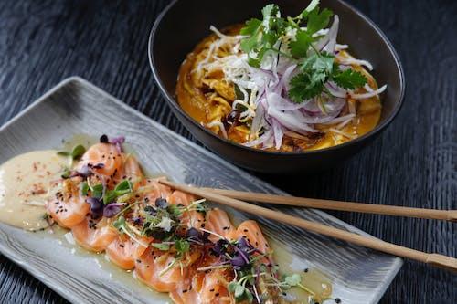 おいしい, お皿, お肉, アジア料理の無料の写真素材