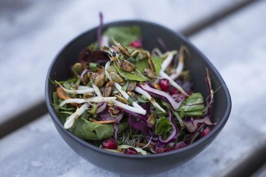 Kostenloses Stock Foto zu essen, salat, gesund, gemüse