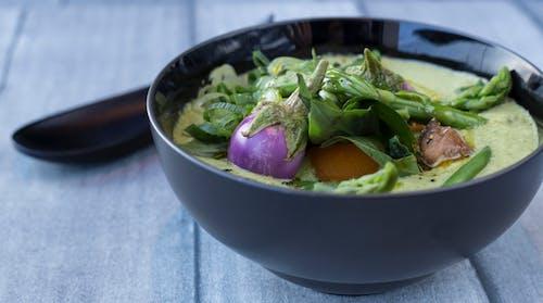 녹색, 비건 채식, 아시아 음식의 무료 스톡 사진