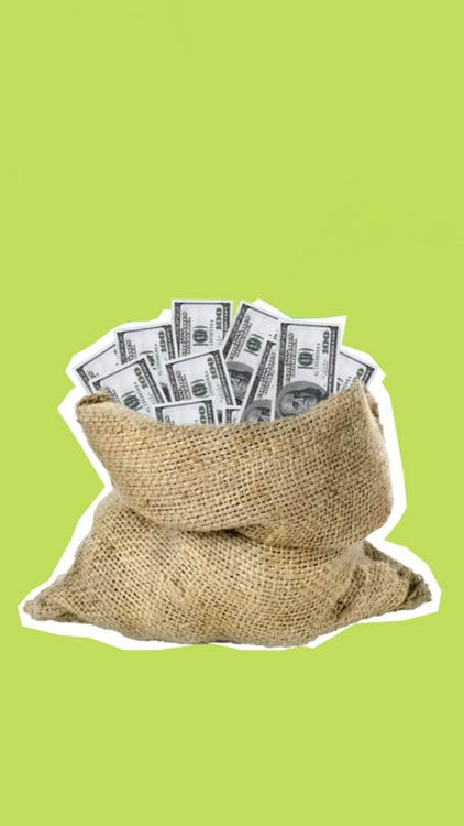 Money In A Sack