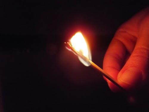 Free stock photo of dark, fire, phosphor, phosphorus