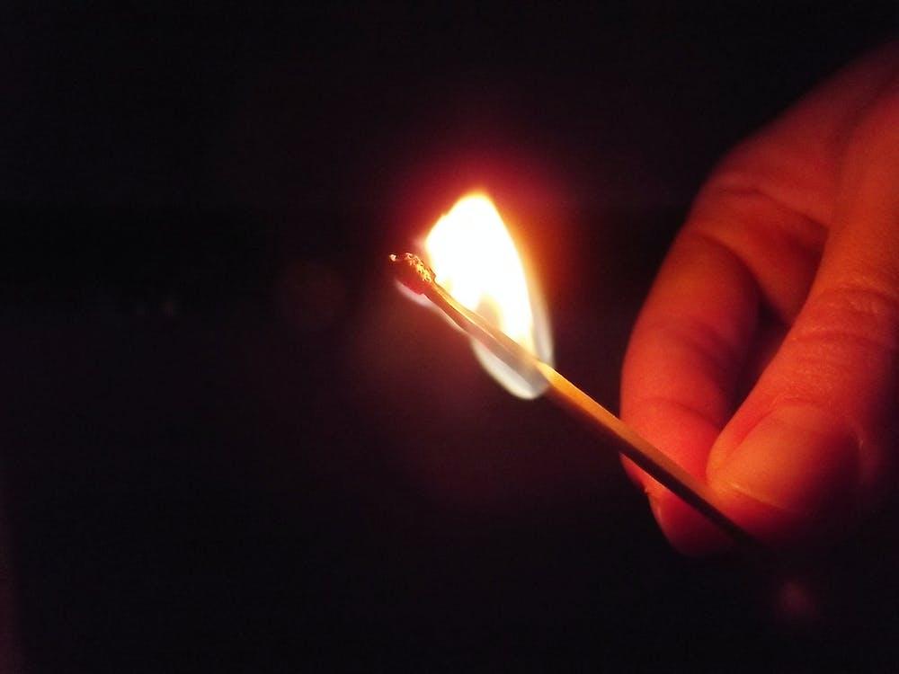 Free stock photo of dark, fire, phosphor