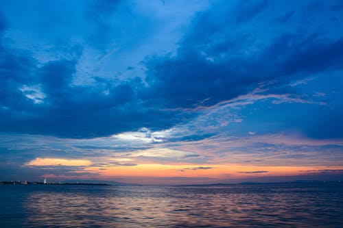 Immagine gratuita di 4k, nuvole, tramonto