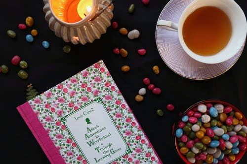 Free stock photo of black, book, candle, candy