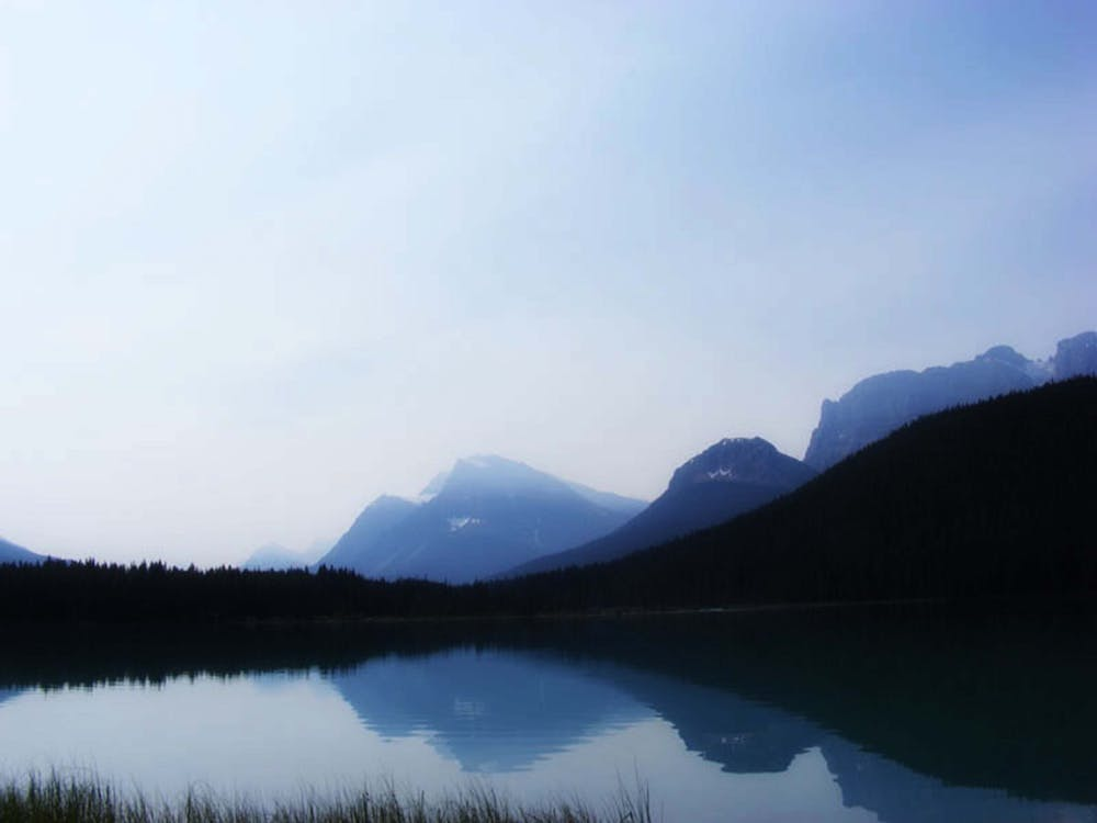 Free stock photo of blue waters, body of water, mountain
