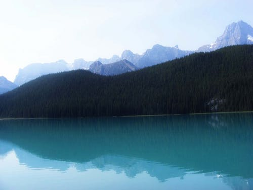 Free stock photo of blue water, body of water, mountains