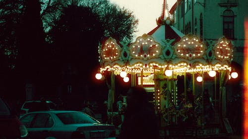 Free stock photo of 35mm, 35mm film, automobile, carousel