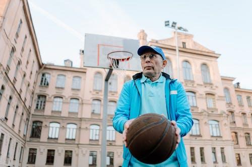 Gratis lagerfoto af ældet, aktivitet, basketball