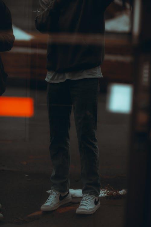 Free stock photo of adult, blur, child, city