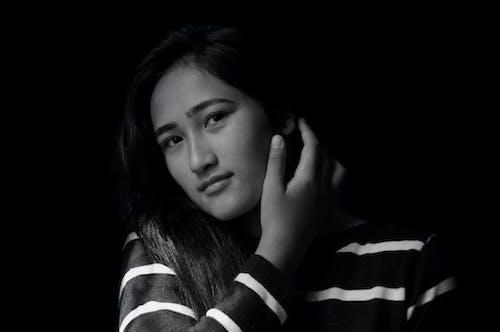 Free stock photo of beautiful, black and white, dark background