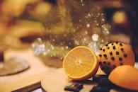 fruits, orange, christmas