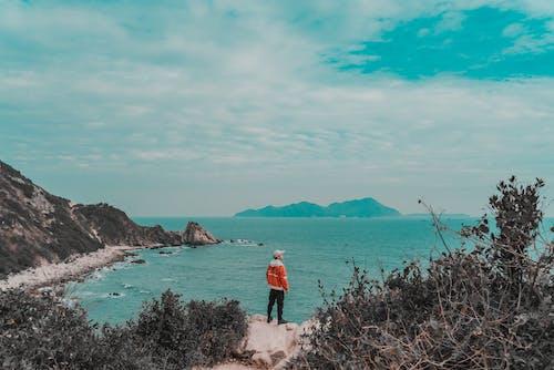 Základová fotografie zdarma na téma krajina, modrá obloha, moře