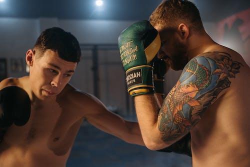 Δωρεάν στοκ φωτογραφιών με bodybuilding, mma, tattoo