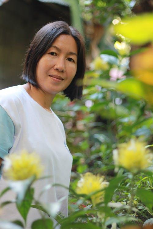 Free stock photo of adult, Asian, beautiful, beautiful flower