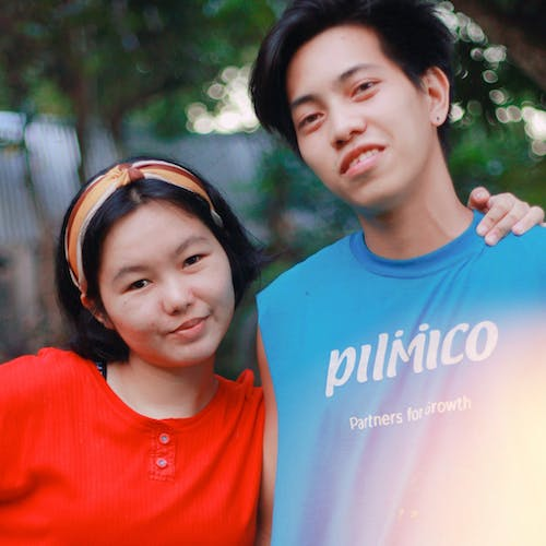 Free stock photo of asian couple, awesome, couple, friends