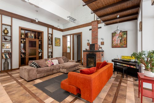 Darmowe zdjęcie z galerii z apartament, cegła, dekoracja