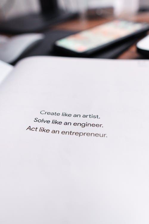 Gratis arkivbilde med entreprenør, inspirasjon, inspirerende