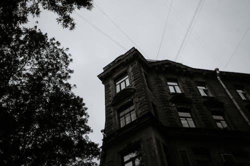 Kostenloses Stock Foto zu architektur, aufnahme von unten, außen