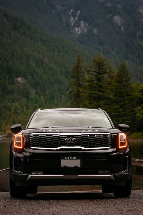 Black Chevrolet Car on Road