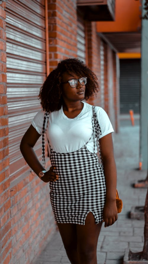 Free stock photo of african american woman, black model, fashion photography