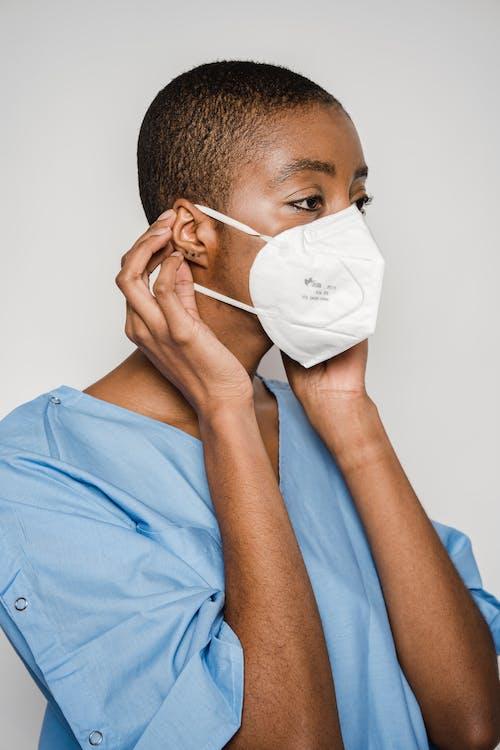 Ingyenes stockfotó afro-amerikai nő, beltéri, beteg témában