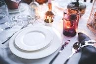 plate, dinner, eating