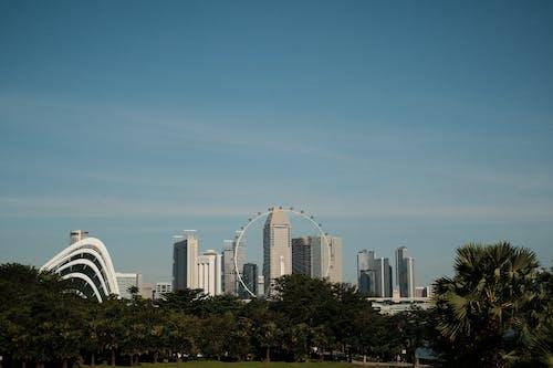 Foto stok gratis bangunan, gedung, kawasan bisnis