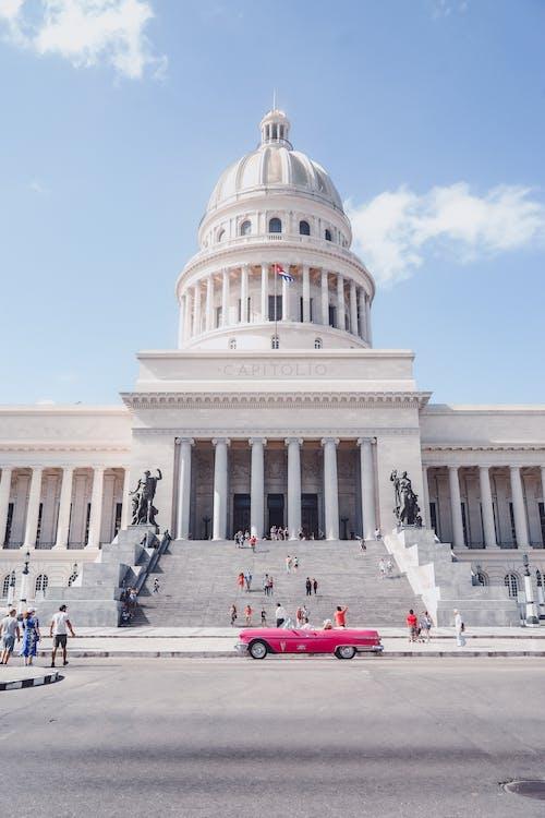 açık hava, başkent, bayrak içeren Ücretsiz stok fotoğraf