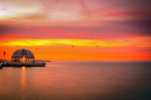 Immagine gratuita di colore del tramonto, tramonto, tramonto dorato