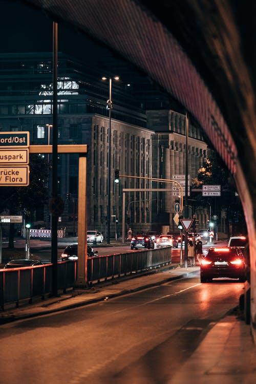 交通, 交通系統, 光 的 免費圖庫相片