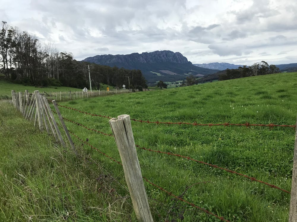 Free stock photo of mt roland, sheffield, tasmania