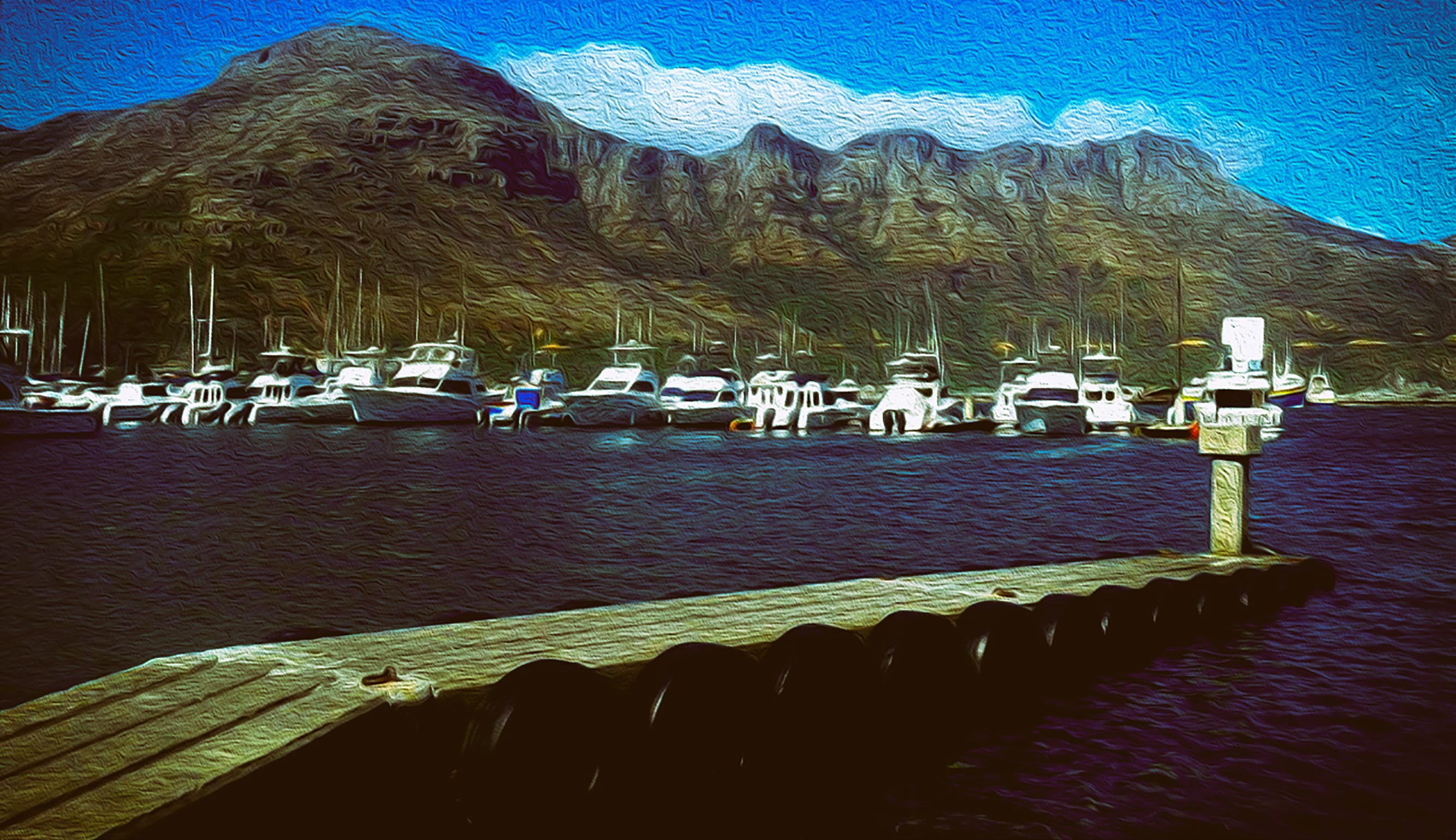 Free stock photo of boats, harbor, hout bay harbour, sea