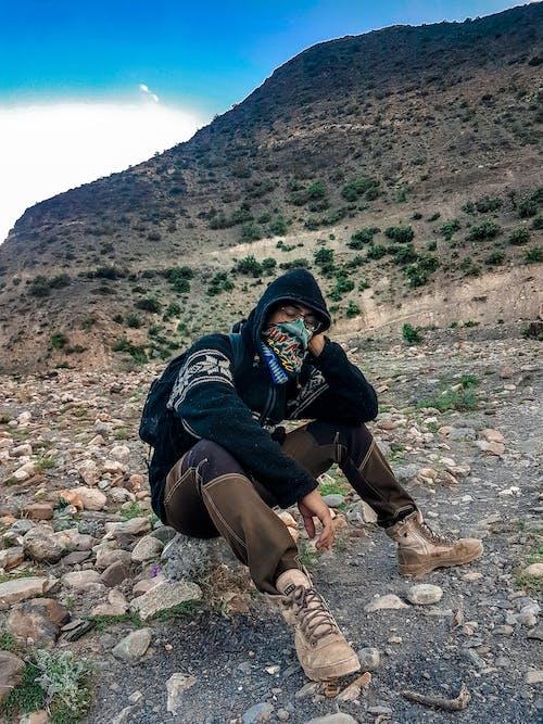 丘陵, 休息, 山岩 的 免费素材图片