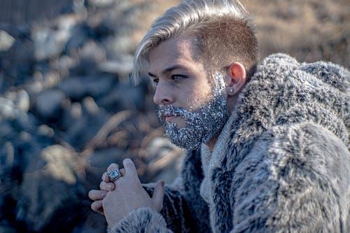 Free stock photo of beard, blonde hair, cold